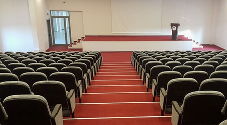 View of Ege University conference room