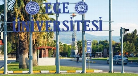Ege University entrance
