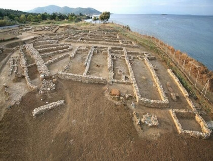 The prehistoric city of Thermi